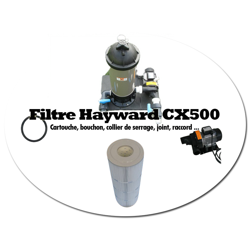 Hayward filtre crochet vers le haut